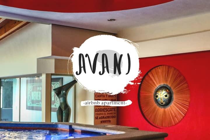 AVANI, Lujoso Loft con jacuzzi en Cuernavaca