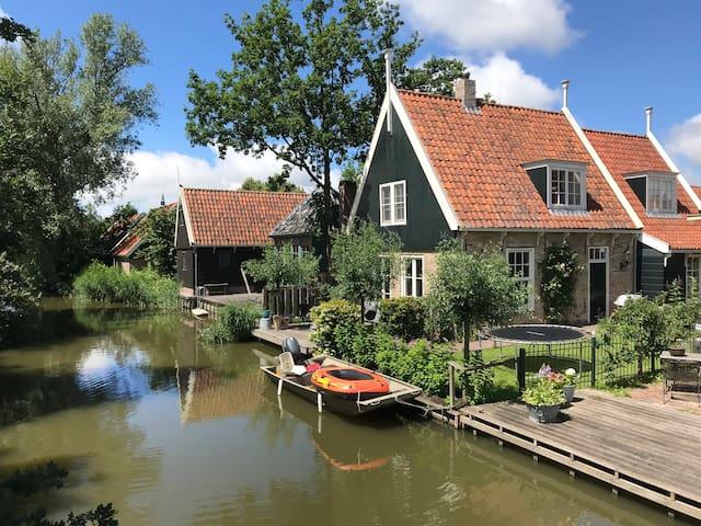 Landelijke villa omgeving Amsterdam