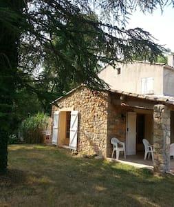 Provence: maison à Entrecasteaux  - Entrecasteaux - Casa
