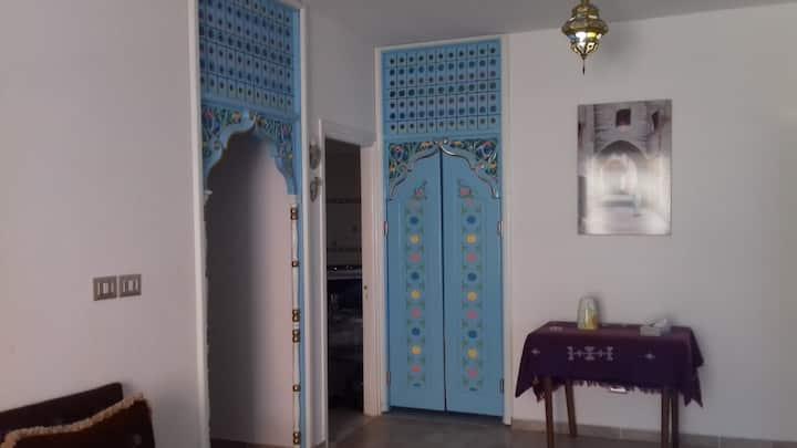 logement arabesque dans une ville de reve