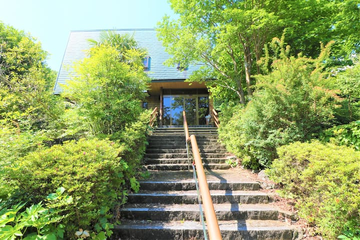 Huge Vacation Rental with Hot Spring in Izu