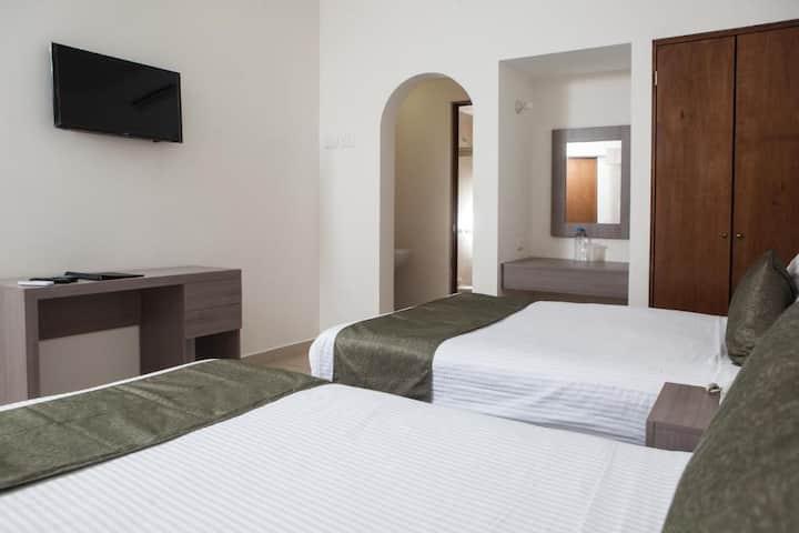 Habitacion doble en Hotel La Riviera