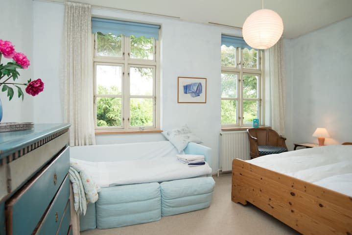 Den Gamle Skole (#2, blue room) - Bedsted Thy - Bed & Breakfast