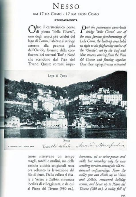La storia del Paese di Nesso