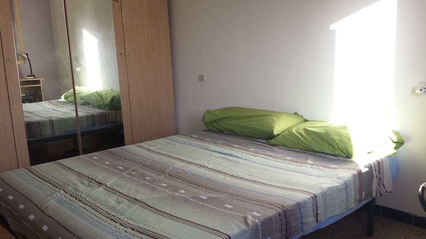 1Room near city center and beach