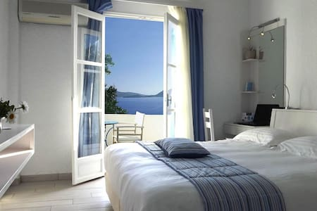 Double Room with Sea View - Amorgós