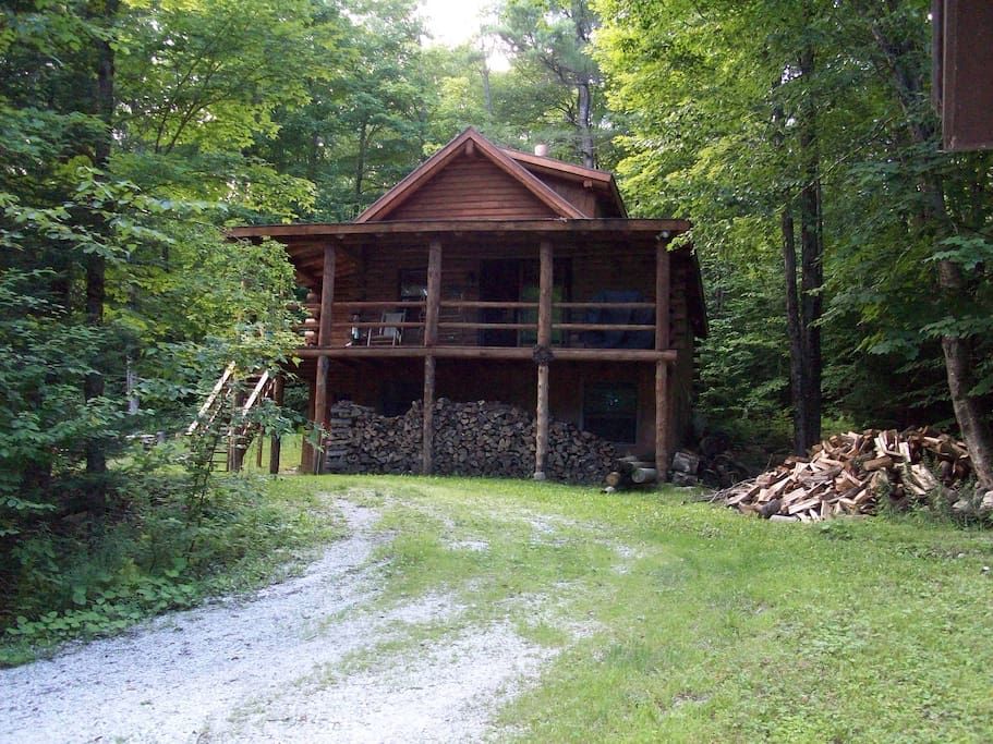 Log Cabin At Lake Ninevah Plymouth Chalet In Affitto A