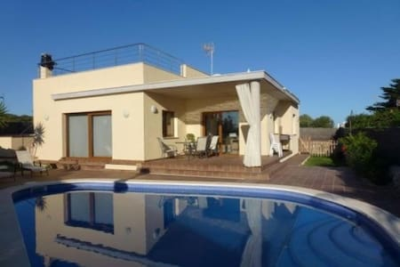 VILLA WITH POOL AND SEA VIEWS - Sant Lluís - Σπίτι