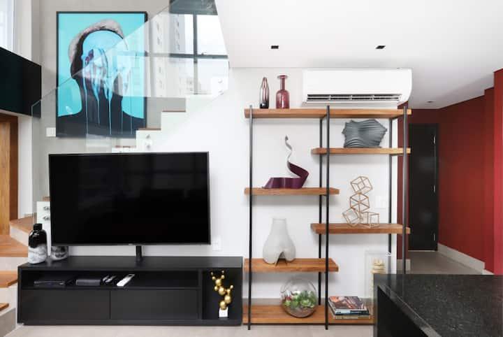 Luxury Loft - 0.3mile from Paulista Ave