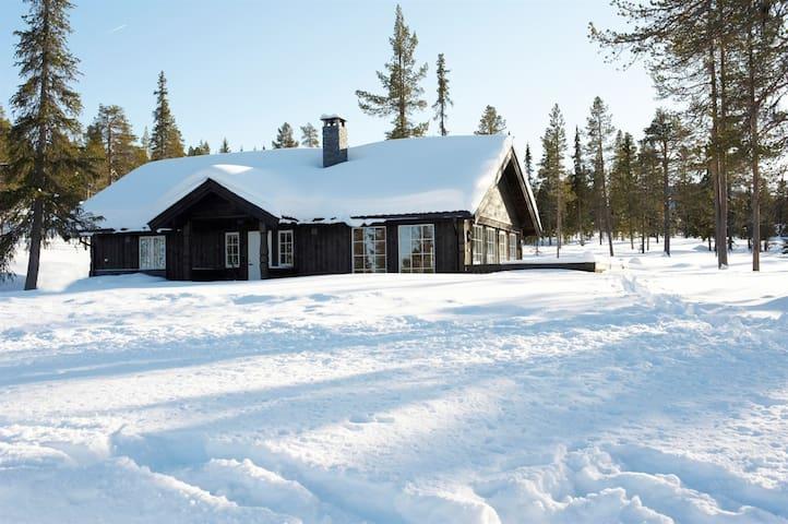 Spacious and modern mountain cabin (2h15m fr Oslo)