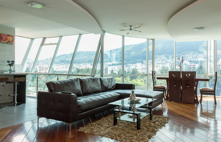 *ALL IN ONE*3BD*MODERN*LUXURY*WIFI* - Quito - Apartamento