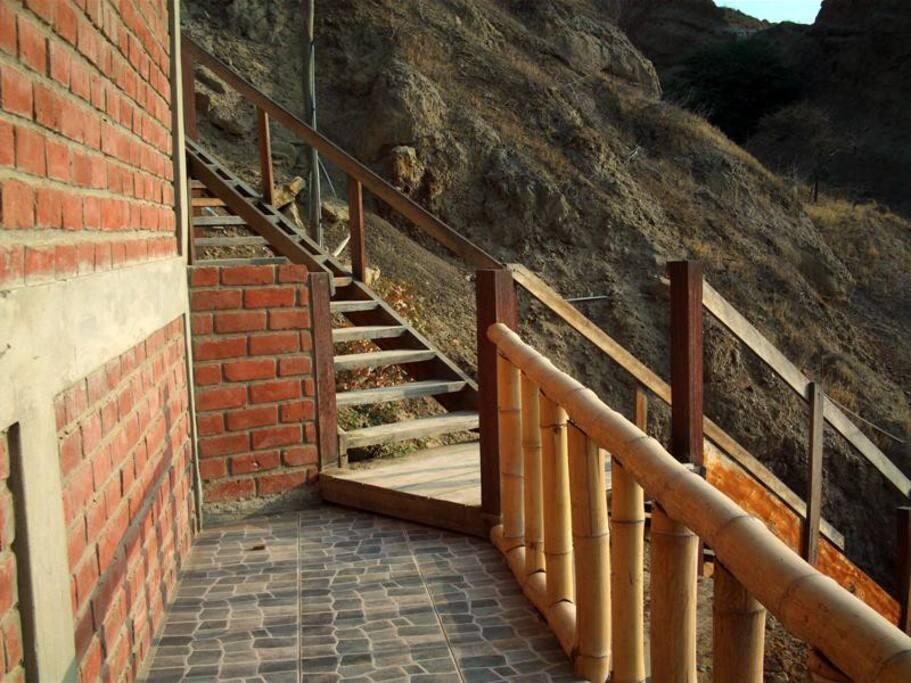 Casa de Playa en Las Pocitas de Mancora - Entrada