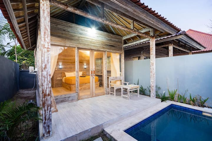 Private Bungalow with AC and Swimming Pool 4