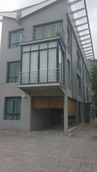 Private Apartment with private carpark in gated cmpound