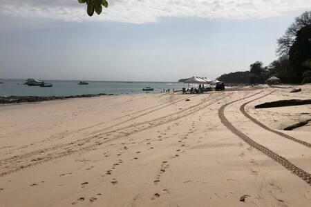 Beach Front Isla Contadora House