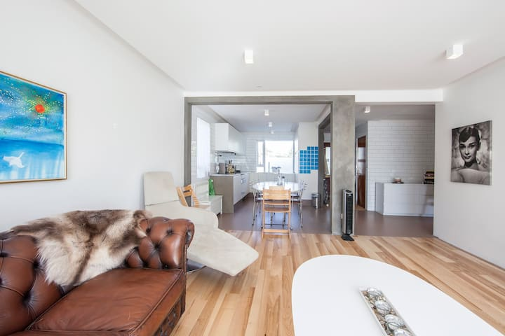 New in Rent, Modern family condo w/ garden! - Seltjarnarnes - Pis