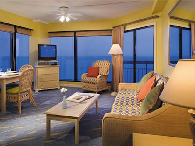 one bedroom suite at beach villas for rent in myrtle beach south