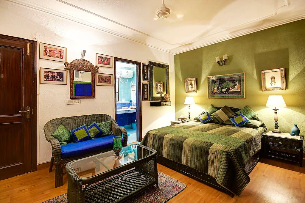 Pine Deluxe Bedroom - Another view
