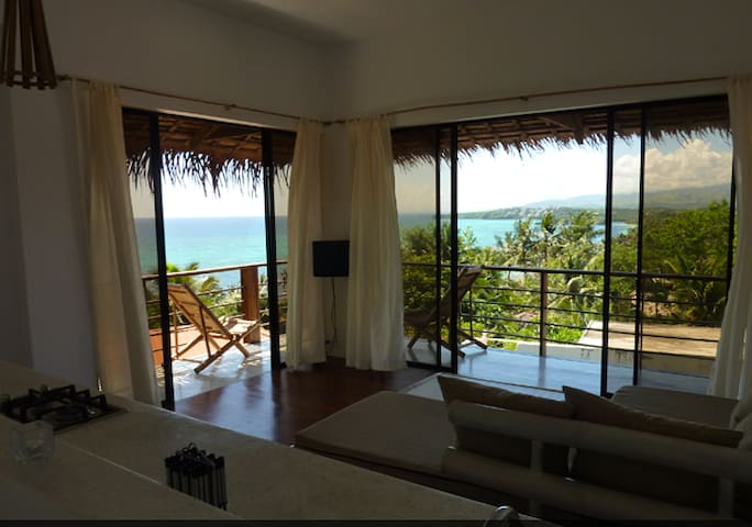 Sea view. Two-storey apartment 1 - Boracay - Lägenhet