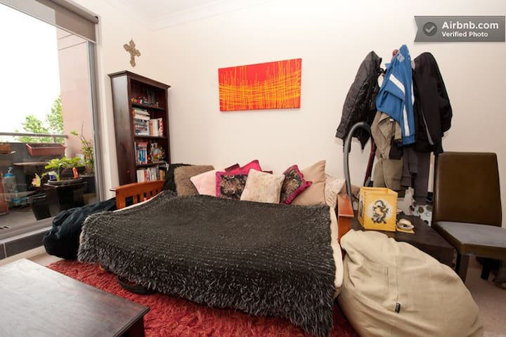 Eco-conscious Traveller: Sofa Couch - Redfern - Apartamento