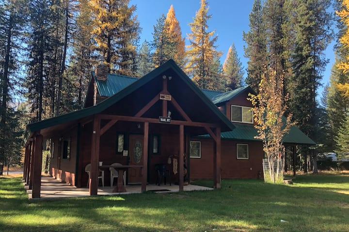 Yaak River Base Camp Private Cabin