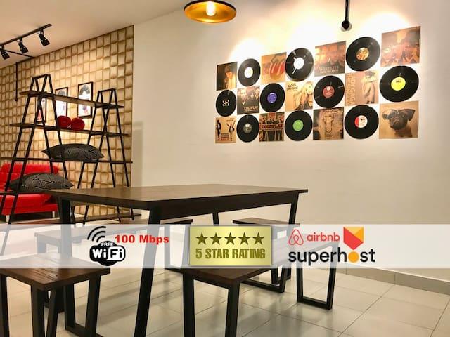 JB9 A* Designer Family Suite Tebrau/Aeon/IKEA WIFI