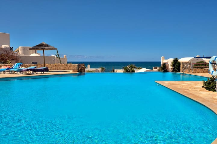 Beautiful views from the pool.