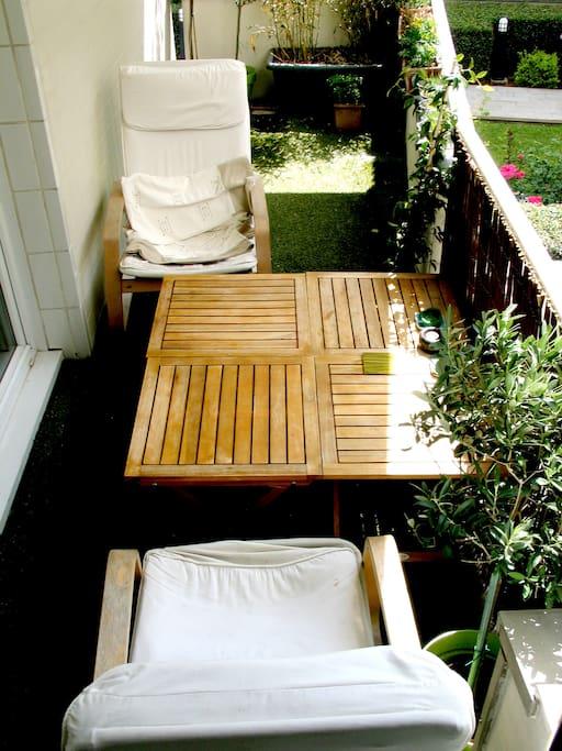 Petit balcon au calme