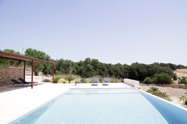 Country house with pool 10min beach - Sant Llorenç des Cardassar - Huis