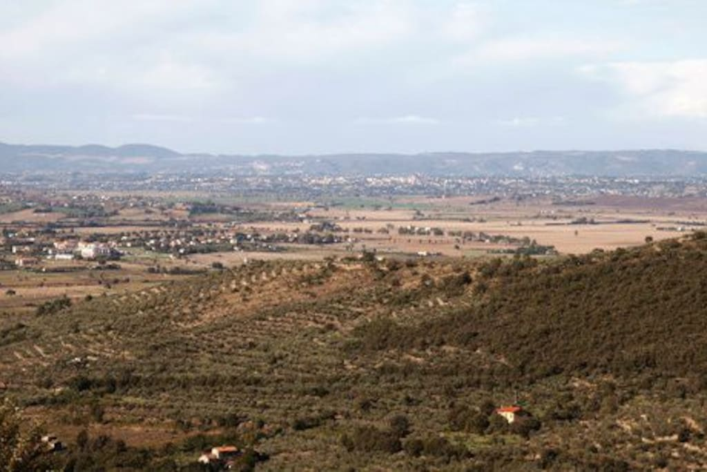 panorama da Borgo Elena