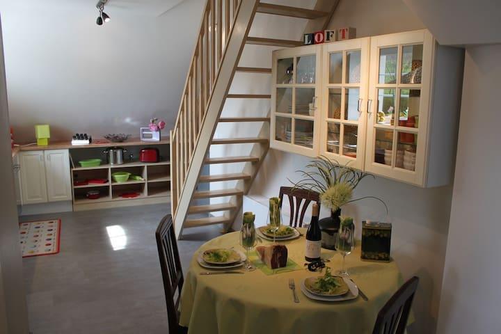 Magnifique Loft sous combles - Arzviller - Apartemen