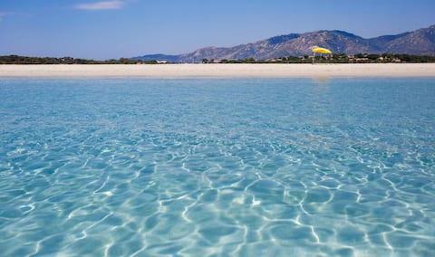Casa Mare Relax.400 m dalla spiaggia. Costa Rei