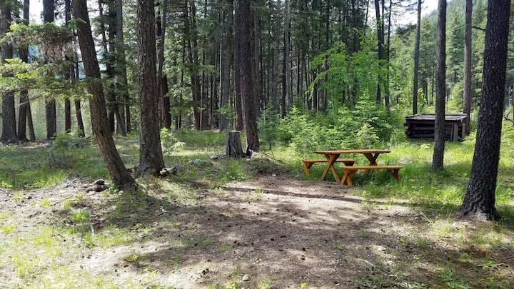 Valhalla Pines Tent Site 2 w/ WIFI & amenities