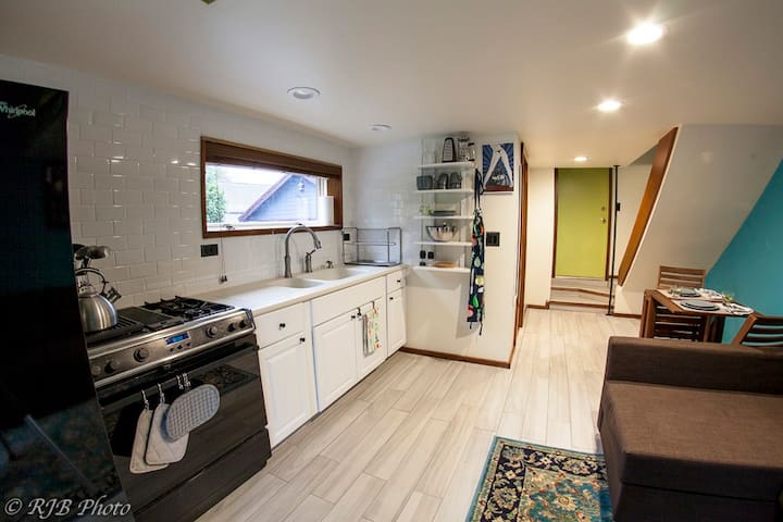 Beautiful private apartment in North Seattle.