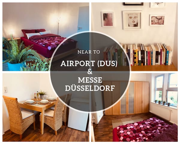 ⭐️NEW⭐️for sightseeing. Near ✈️ & Messe Düsseldorf