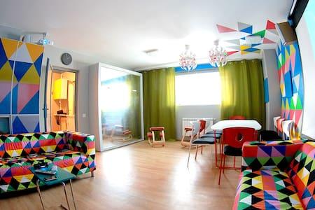 Альфа Апартамены:Студия с начинкой для мероприятий - 鄂木斯克 - 公寓