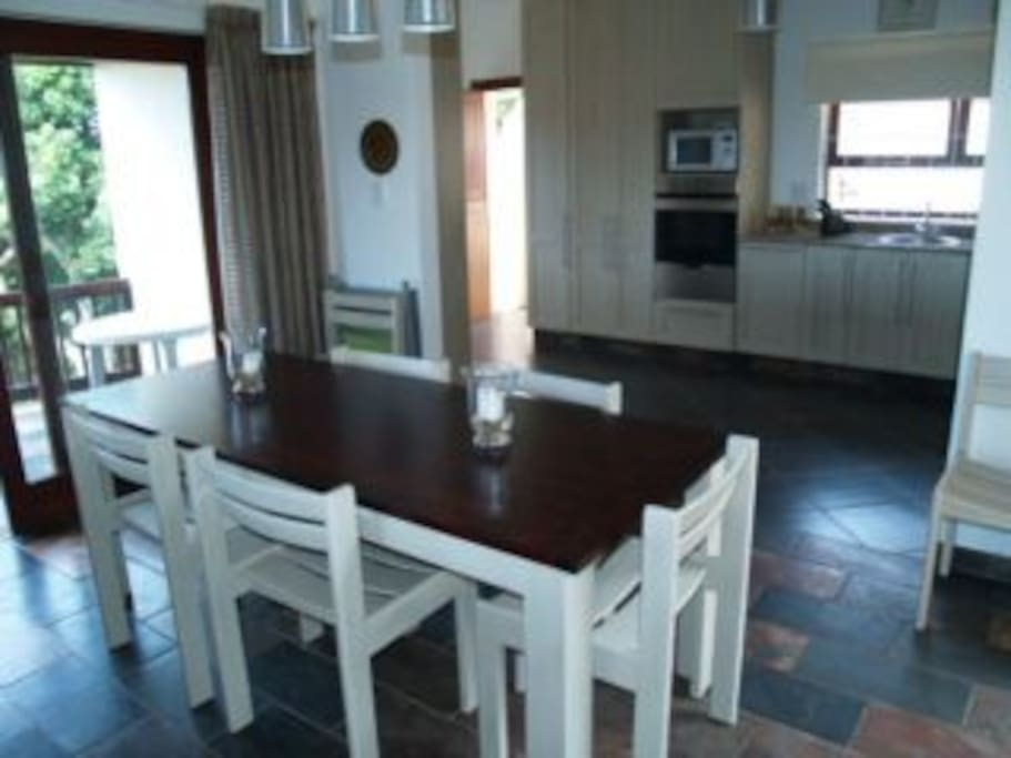 Dining and fully equipped Kitchen