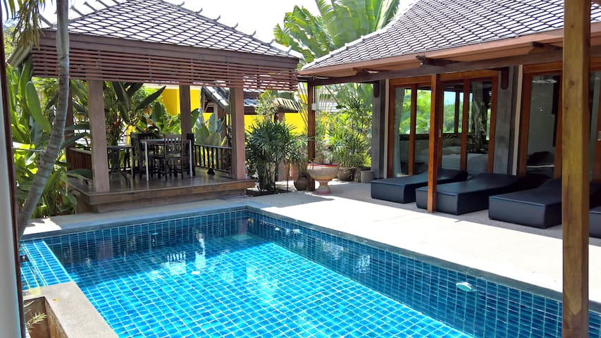 The only pool villa in Khanom