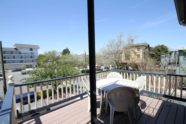 Private second floor deck for Master Suite guests.