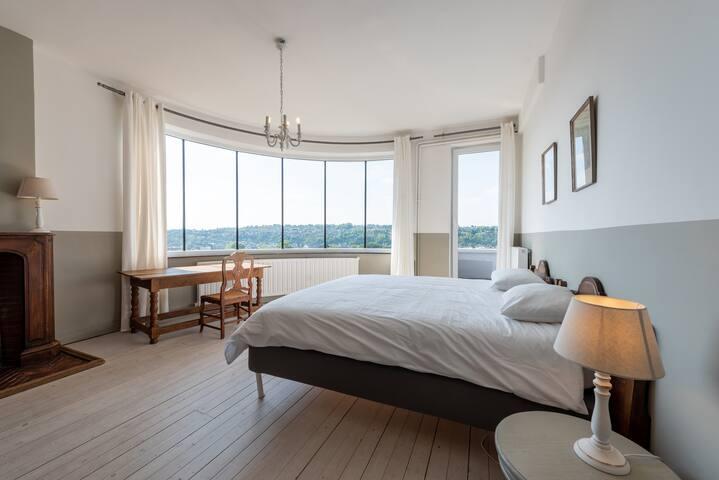 """La chambre """"Bureau"""" et sa vue magnifique"""