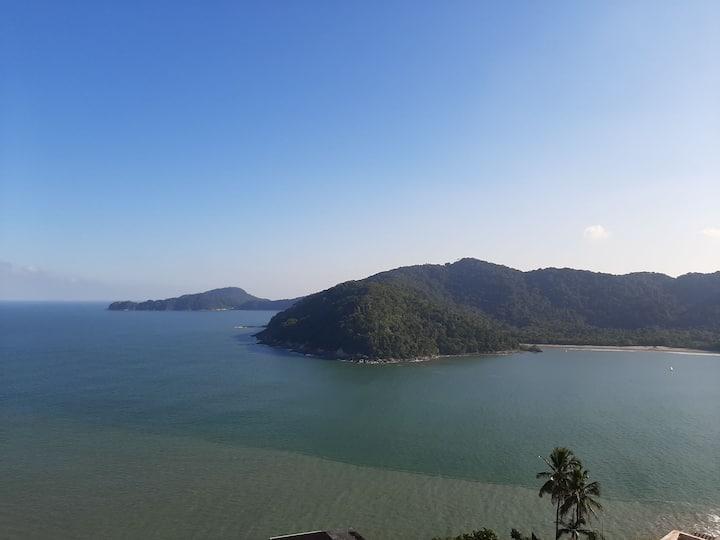 Estúdio Ilha Residence - Vista Espetacular do mar