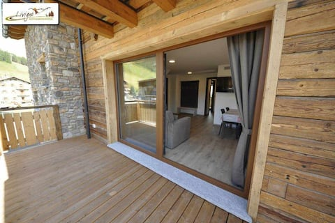Eco House Livigno Mirko Panorama