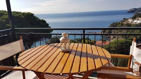Apartamento con magníficas vistas al mar.