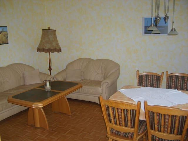 """Ferienhof Thiele, (Wangerland), Ferienwohnung """"Wattwurm"""", 70qm, 2 Schlafzimmer, max. 5 Personen"""