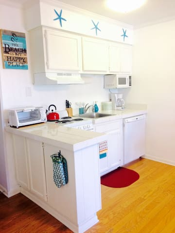 Kitchen includes all dishware and cookware needed for your vacation!