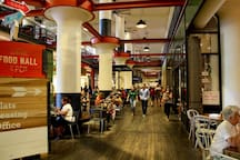 Satisfy your hunger cravings with dozens of restaurants spanning multiple cuisines a Ponce City Market