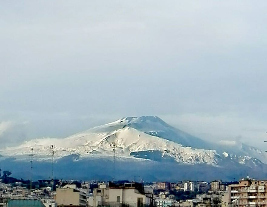 Etna view from your balcony