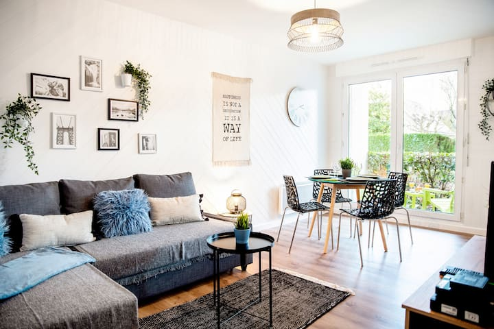 Chic & Cosy, Appartement avec Terrasse + Parking
