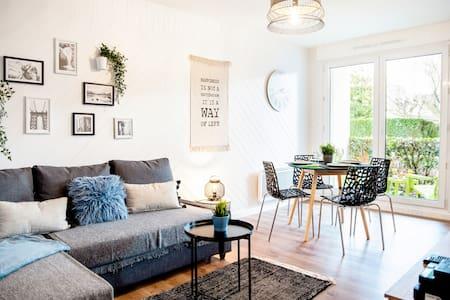 Chic & Cosy Appartement avec Terrasse + Parking