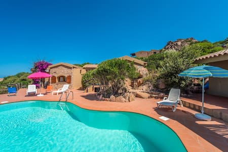 VILLA SOLE 2 con piscina - Costa Paradiso